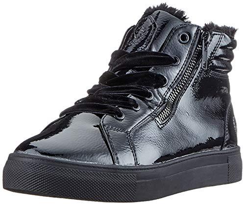 Jane Klain 252 384, Zapatillas Altas para Mujer, Negro (Black Patent 016), 38 EU