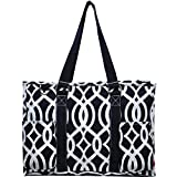 N Gil All Purpose Organizer Medium Utility Tote Bag (Vine Navy)