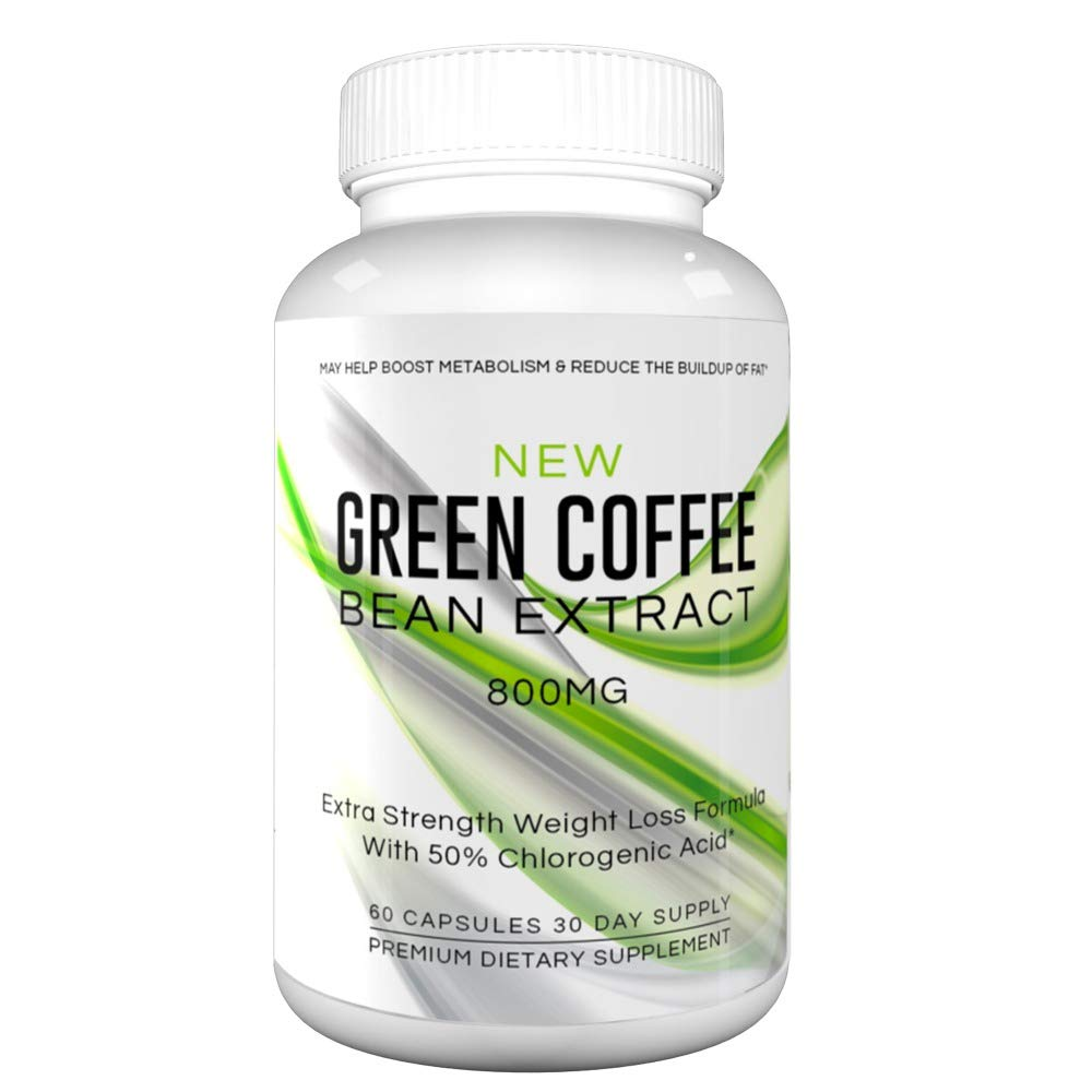 New Green Coffee Bean Extract For Weight Loss 800mg New Green