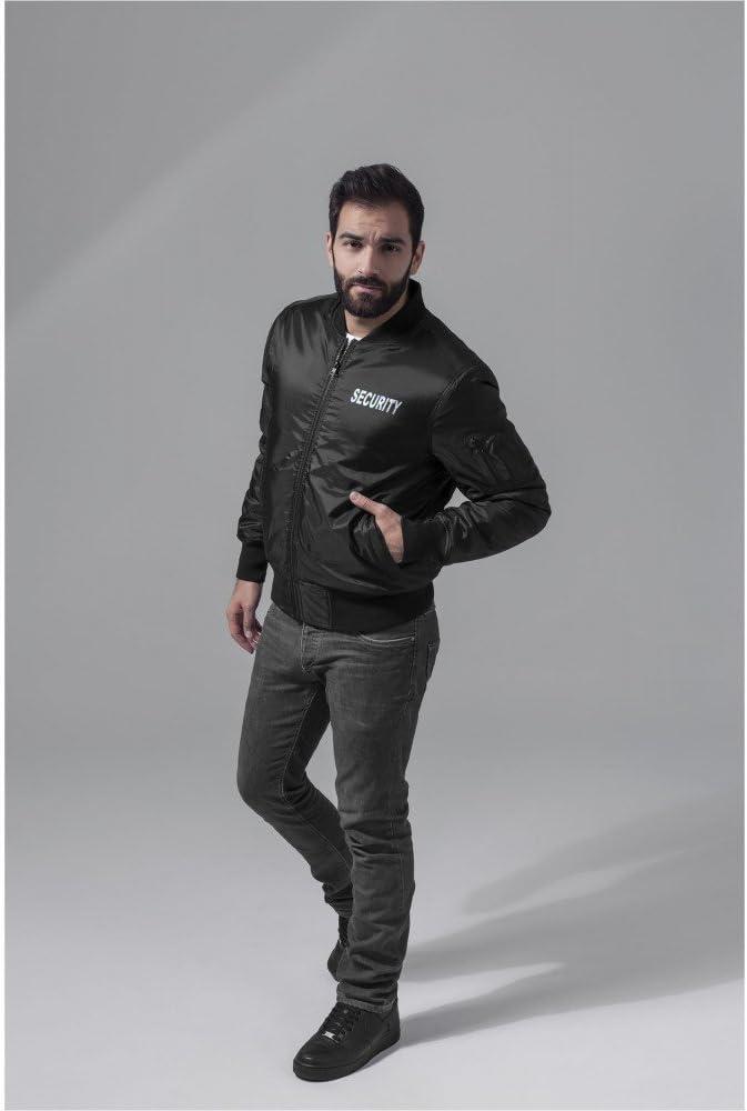Neongelb und Neonorange M L XL XXL f/ür den Sicherheitsdienst Warnweste Schwarz Coole-Fun-T-Shirts Security