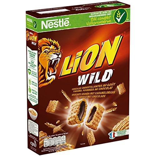 Nestlé Lion Wild Céréales du Petit Déjeuner Paquet de 410 g