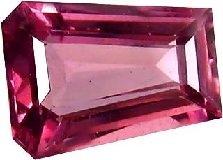0.86 ct AAA+ Grade Fancy Shape (7 x 5 mm) Unheated Pink Malaya Garnet Natural Loose Gemstone