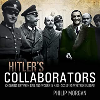 Hitler's Collaborators audiobook cover art