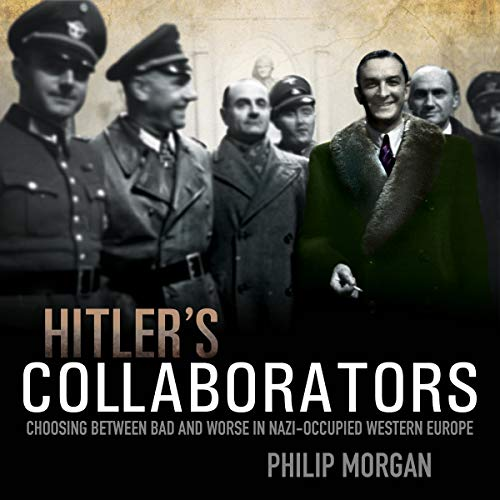 Hitler's Collaborators audiobook cover art
