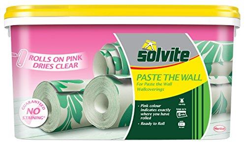 Solvite 20294245-roll Wand einkleistern ready-mix–Pink