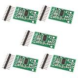 ICQUANZX 5 Stück HX711 Wägesensor 24-Bit-Präzisions-A/D-Modul-Drucksensor