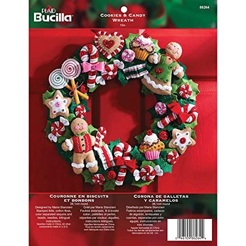 5-Pack Holiday Decor Wreaths Premium Brushed Aluminum Sign 16x16 CGSignLab