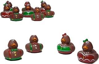 Fun Express Gingerbread Rubber Ducks - One Dozen