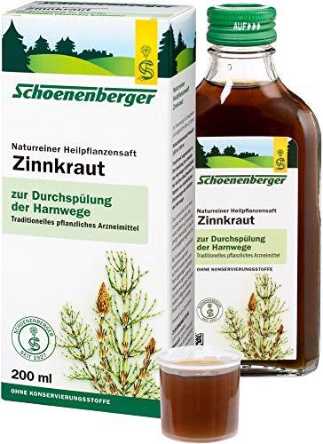 Schoenenberger Naturreiner Heilpflanzensaft Zinnkraut (2 x 200 ml)