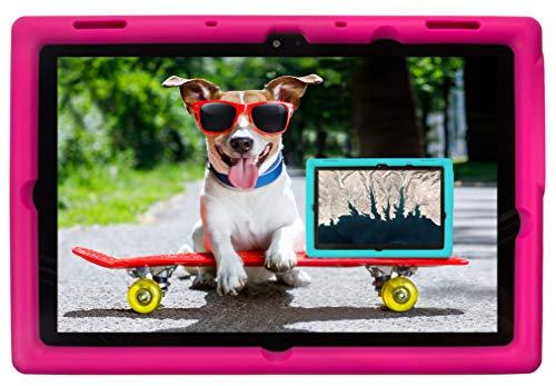 BobjGear Bobj Rugged Tablet Case for (25.7) Lenovo 10e Chromebook Tablet Kid Friendly (Rockin' Raspberry)