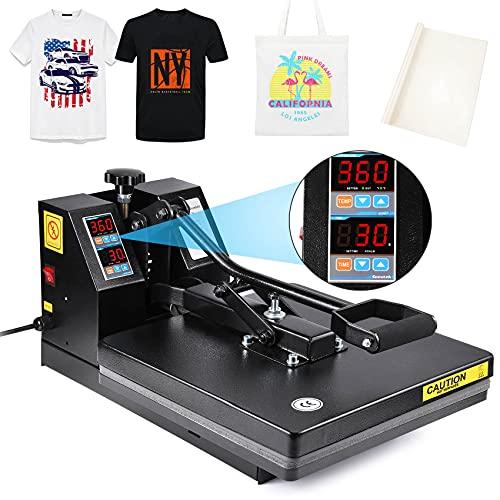 Seeutek Heat Press Machine 15x15 Inch Industrial Digital Heat Transfer Printing...