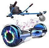 GeekMe Self Balance Elektro Scooter mit Hoverkart, Elektroroller mit Hoverboards, Balance Board +...