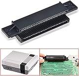 Linkstyle Fente de Cartouche de connecteur de Remplacement à 72 Broches pour Console Nintendo NES 8 Bits Accessoires de système de Divertissement Jeux de réparation