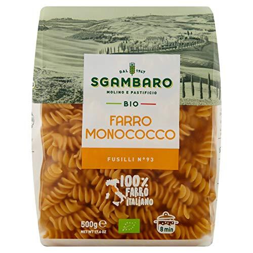Pasta Sgambaro - Fusilli - Farro Monococco Bio - 500 gr