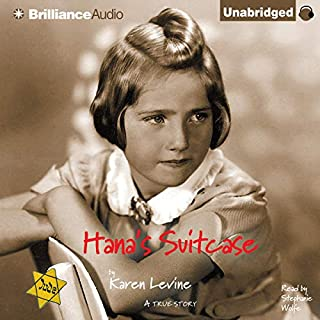 Hana's Suitcase     A True Story              Written by:                                                                                                                                 Karen Levine                               Narrated by:                                                                                                                                 Stephanie Wolfe                      Length: 2 hrs and 11 mins     1 rating     Overall 4.0