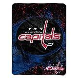 NHL Washington Capitals 'Ice Dash' Micro Raschel Throw Blanket, 46' x 60'