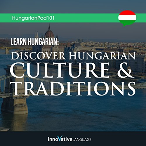 Learn Hungarian audiobook cover art