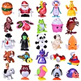 FUN LITTLE TOYS Wind Up Toys 25 PCs Assorted Animal Toys for Kid Party Favors, Pinata Filler Carniva Prizes Classroom Incentive Reward