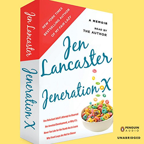 Jeneration X audiobook cover art