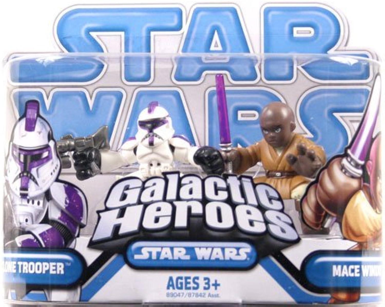 Star Wars Clone Wars Galactic Heroes Clone Trooper Mace Windu +