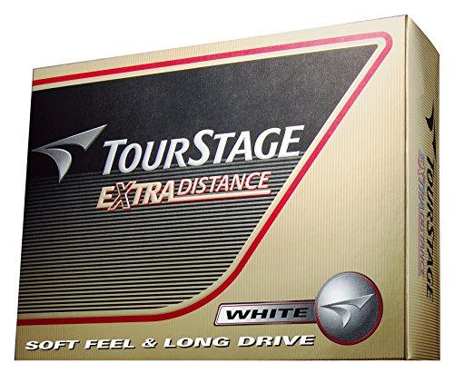 BRIDGESTONE(ブリヂストン) ゴルフボール TOURSTAGE エクストラディスタンス 1ダース( 12個入り) ホワイト ...
