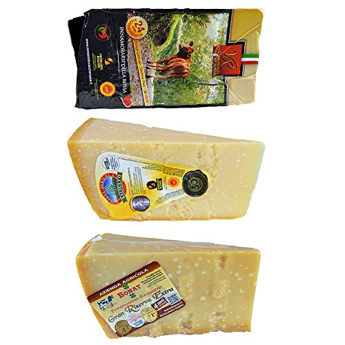 3 kg der besten Parmigiano Reggiano g.U Vacche Rosse 2 Jahre von Hügel 3 Jahre Bonat 4 Jahre