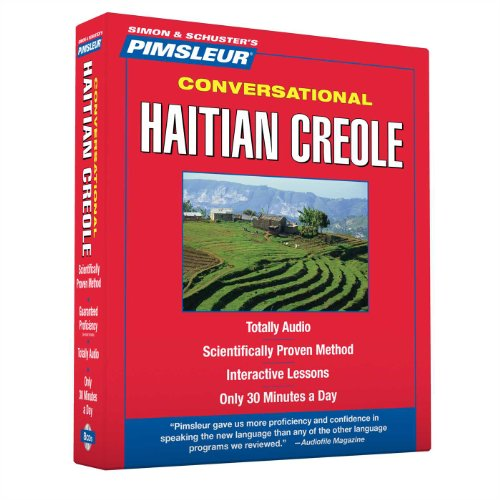 Compare Textbook Prices for Pimsleur Haitian Creole Conversational Course - Level 1 Lessons 1-16 CD: Learn to Speak and Understand Haitian Creole with Pimsleur Language Programs 1 16 Lessons Edition ISBN 9780743572415 by Paul Pimsleur