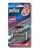 Braun Tête de Rasoir de Rechange pour cassette Braun 30B Gate 30B/3Series ancienne version de SmartControl, SyncroPro, Syncro, TriControl pour 47354775487548357505763076807790