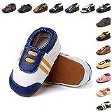 Zapatos Primeros Pasos Bebe Niña Niño Suave Cuero de Imitación Casual Zapatillas de Estar por Casa Pantuflas...