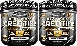 MuscleTech Platinum Creatine Monohydrate Powder, 100% Pure Micronized Creatine Powder, 14.1oz (80 Servings) 2-Pack