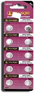 AG2 396A LR726 SR726SW CX59 LR59 SR59 397 Button Cell Batteries [10-Pack]
