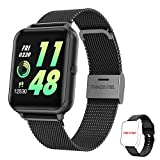 HopoFit Smartwatch, Reloj Inteligente Mujer Hombre Impermeable IP67 Pantalla Tátil Completa, Reloj...