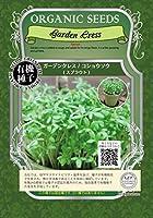 ガーデン クレス/コショウソウ/有機 種子 固定種/グリーンフィールド/スプラウト [大袋]