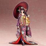 LCFF Figura Anime Figura Figura de acción Saekano Girlfriend Utaha Kasumigaoka Kimono Estatuilla Colección Estatua Adornos Decoración Modelo Modelo Juguetes Doll Regalo