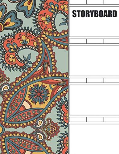 Storyboard: Blank Storyboard Sketchbook Pad Video Creators & Kids