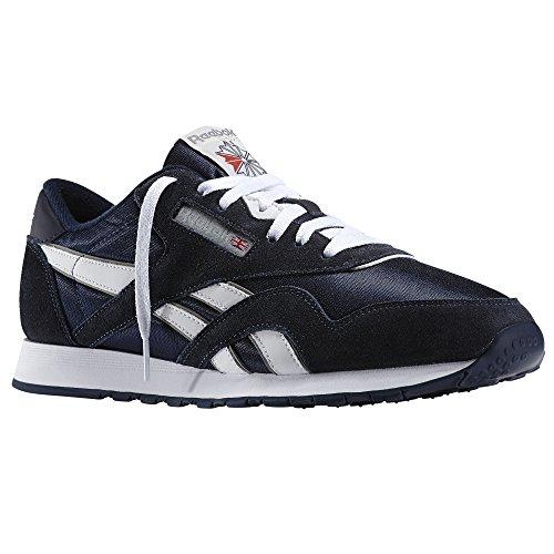 Reebok Classic Heren Blauw Sneakers Hardloopschoenen Nieuw/Display UK 6.5