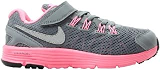 Girls Lunarglide 4 (GS) Running Shoes (4.5Y, CL Gry/RFLCT...