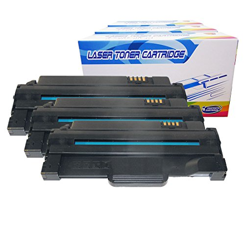 Inktoneram Compatible Toner Cartridges Replacement for Dell 1135n 1130 1130n 1133 High Yield 330-9523 2.5K (Black, 3-Pack)