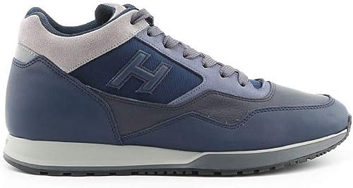 Hogan Hombre HXM3210Z880JBQ6EE1 azul Cuero Hauszapatos