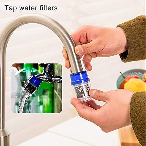 Waterkraan waterfilter, keuken draagbare mini actieve kool waterkraan leidingwater schoon filterreiniger multi