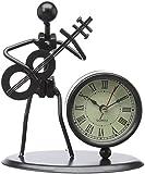 Gewa 980712 Sculpture avec horloge Motif Basses