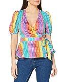 find. Top Cruzado Mujer, Multicolor (Multicolour), 42, Label: L