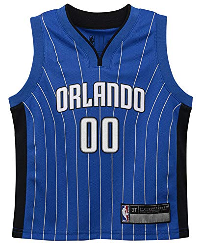 NBA Kids 4-7 Official Name and Number Replica Home Alternate Road Player Jersey (4, Aaron Gordon Orlando Magic Blue)