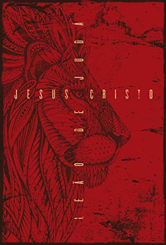 BIBLIA NVT LN LEÃO DE JUDÁ VERMELHO