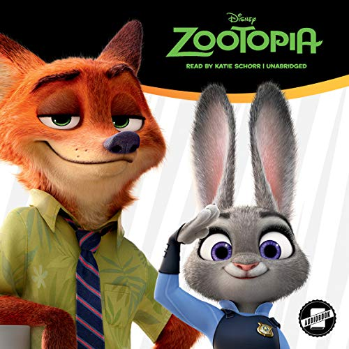 Zootopia cover art