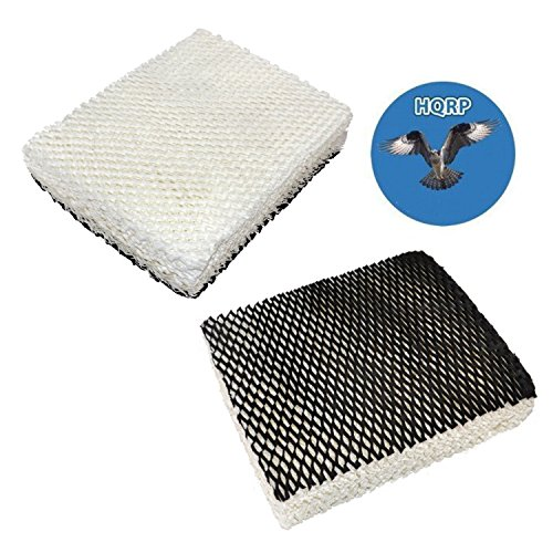 HQRP 2-Pack Humidifier Wick Filter Compatible with Bionaire C22, C33, W2, W2S, W6, W6H, W6S, W7, W9, W9H, W9S Humidifiers, Part 900 900CS 900X Replacement Coaster
