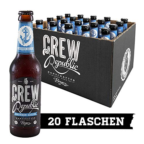 CREW Republic Craft Beer Drunken Sailor, IPA India Pale Ale (20 x 0,33l)