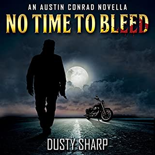 No Time to Bleed audiobook cover art