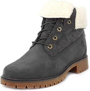 حذاء نسائي Jayne من Timberland مصنوع من الصوف الناعم المقاوم للماء قابل للطي رمادي داكن 7 B US B (M)