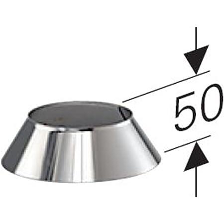 Edelstahl gl/änzend Keine Farbe w/ählbar MK sp Z o.o Dachdurchf/ührung 35/°-50/° Lochdurchmesser 160 mm DW 80 Edelstahl Schornstein